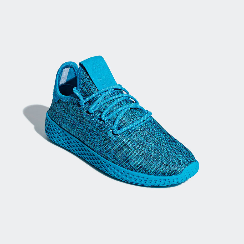 Kid's adidas Originals Pharrell Williams Tennis Hu Shoes Bold Aqua