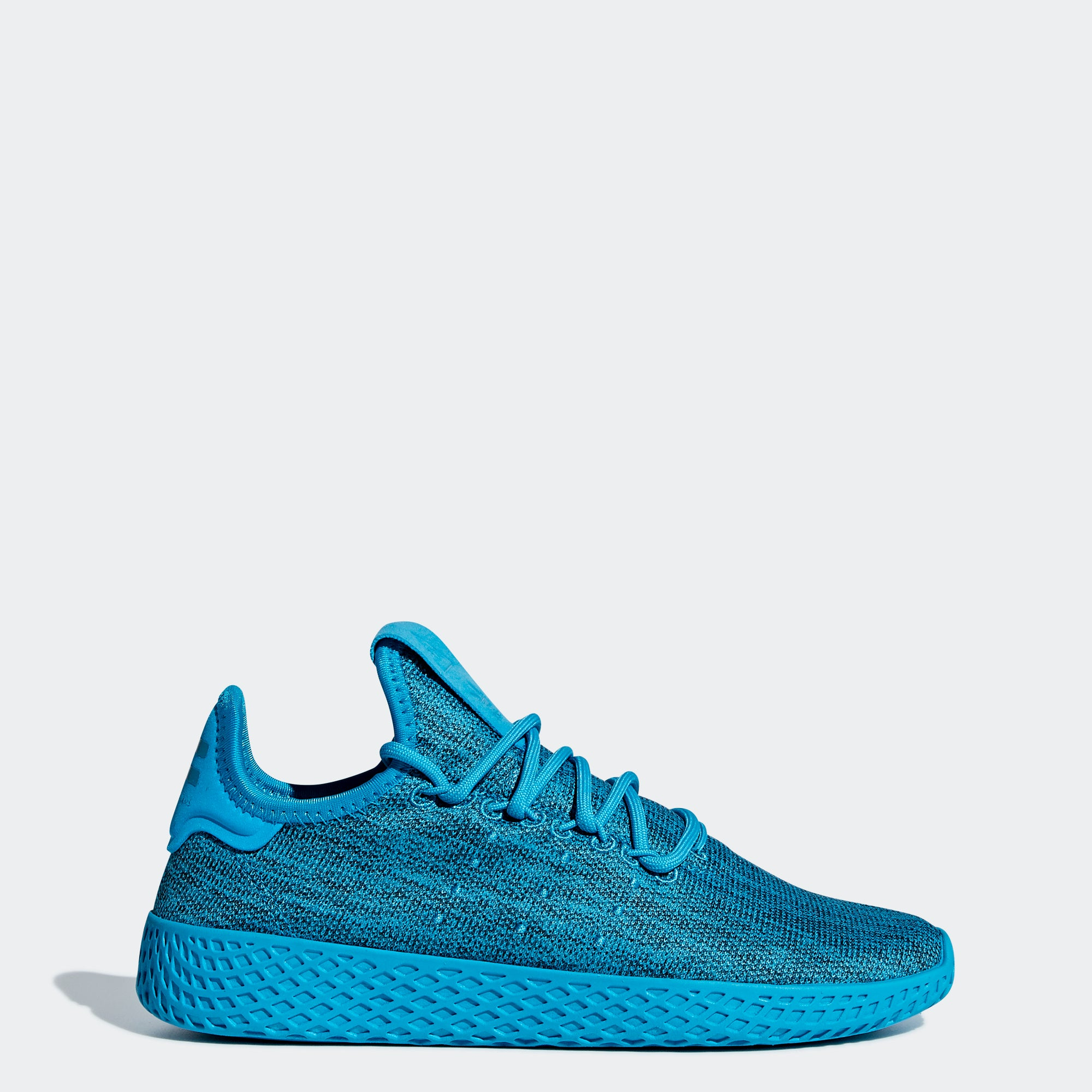 fa8f24273 Kid s adidas Originals Pharrell Williams Tennis Hu Shoes Bold Aqua