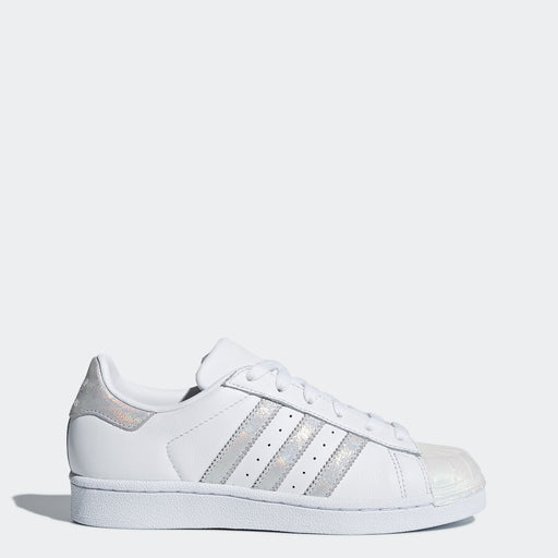 dd6781dd6272 Kid s Adidas Originals Superstar Shoes White Iridescent