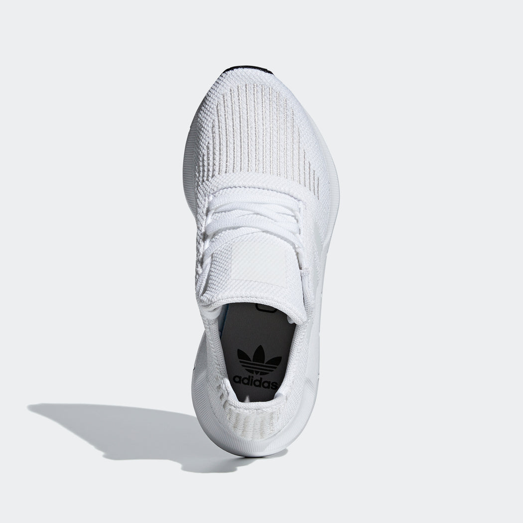 Kid's Adidas Originals Swift Run Shoes Crystal White/ Core Black