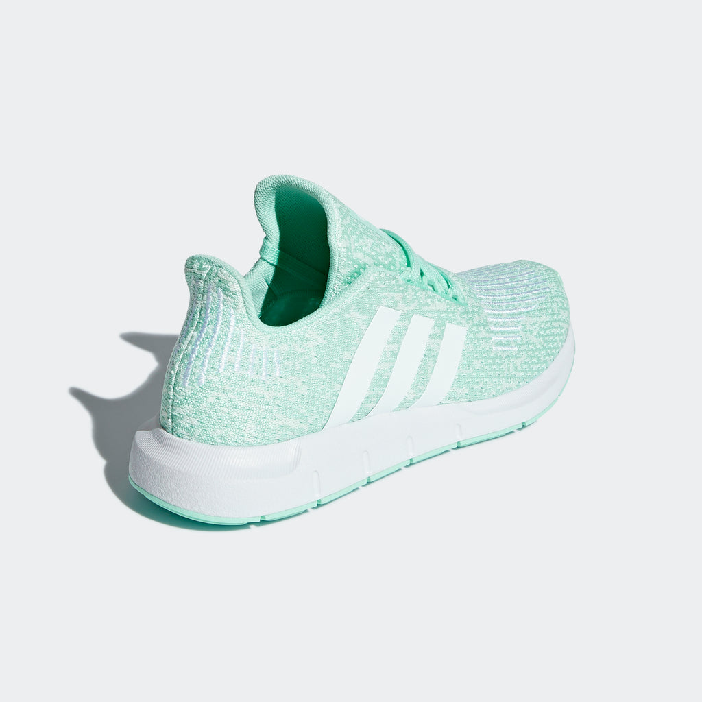 Kid's adidas Originals Youth Swift Run Shoes Clear Mint