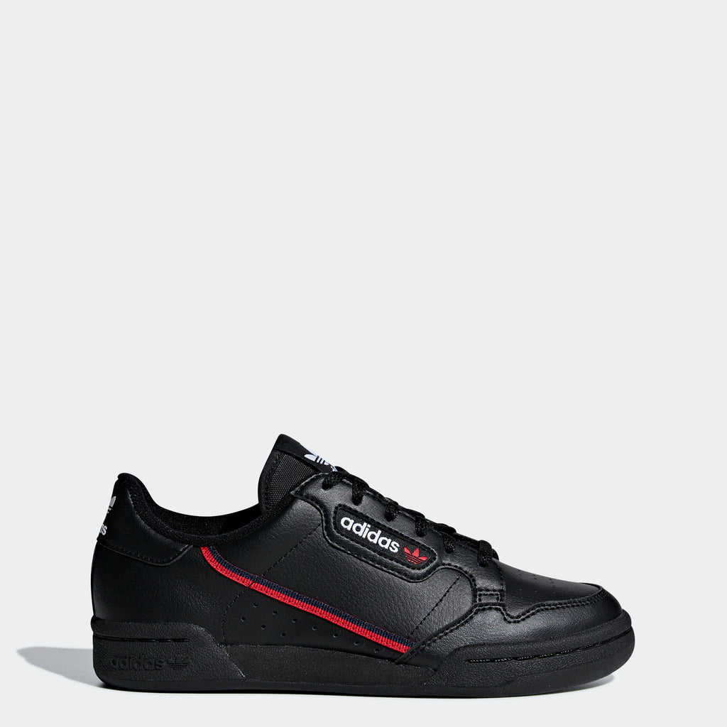 Kid's adidas Originals Continental 80 Shoes Black