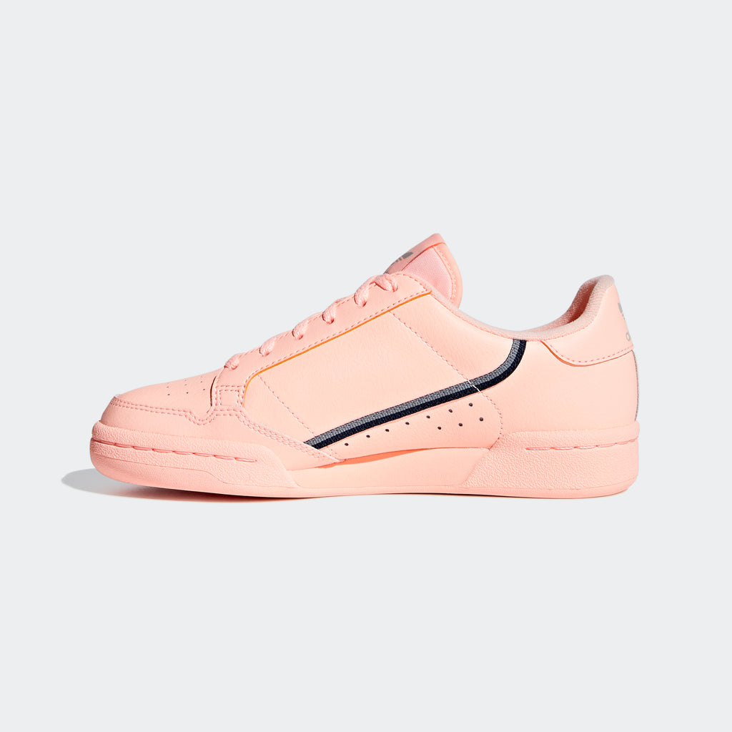 Kid's adidas Originals Continental 80 Shoes Clear Orange