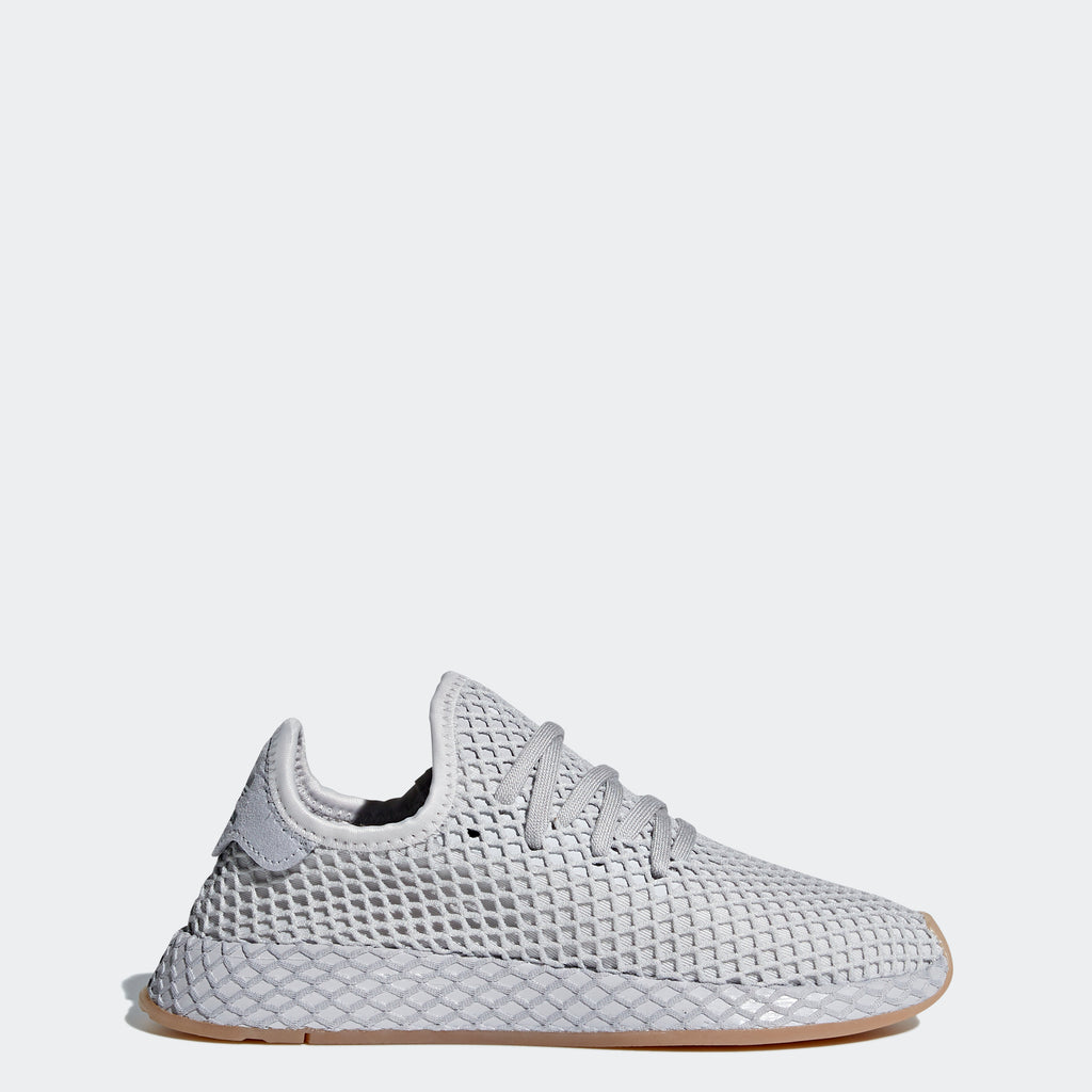 Kid's adidas Originals Deerupt Runner Shoes All Gray