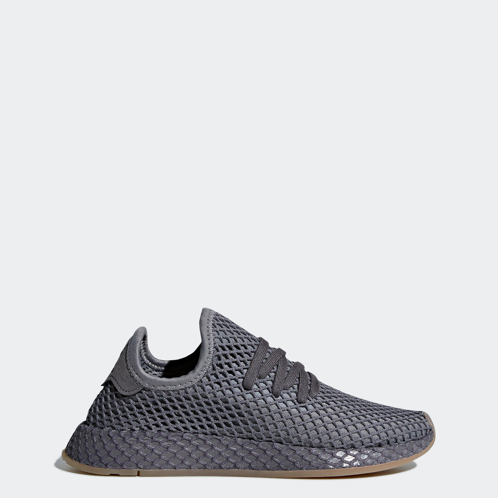Kid's adidas Originals Deerupt Runner Shoes Dark Gray
