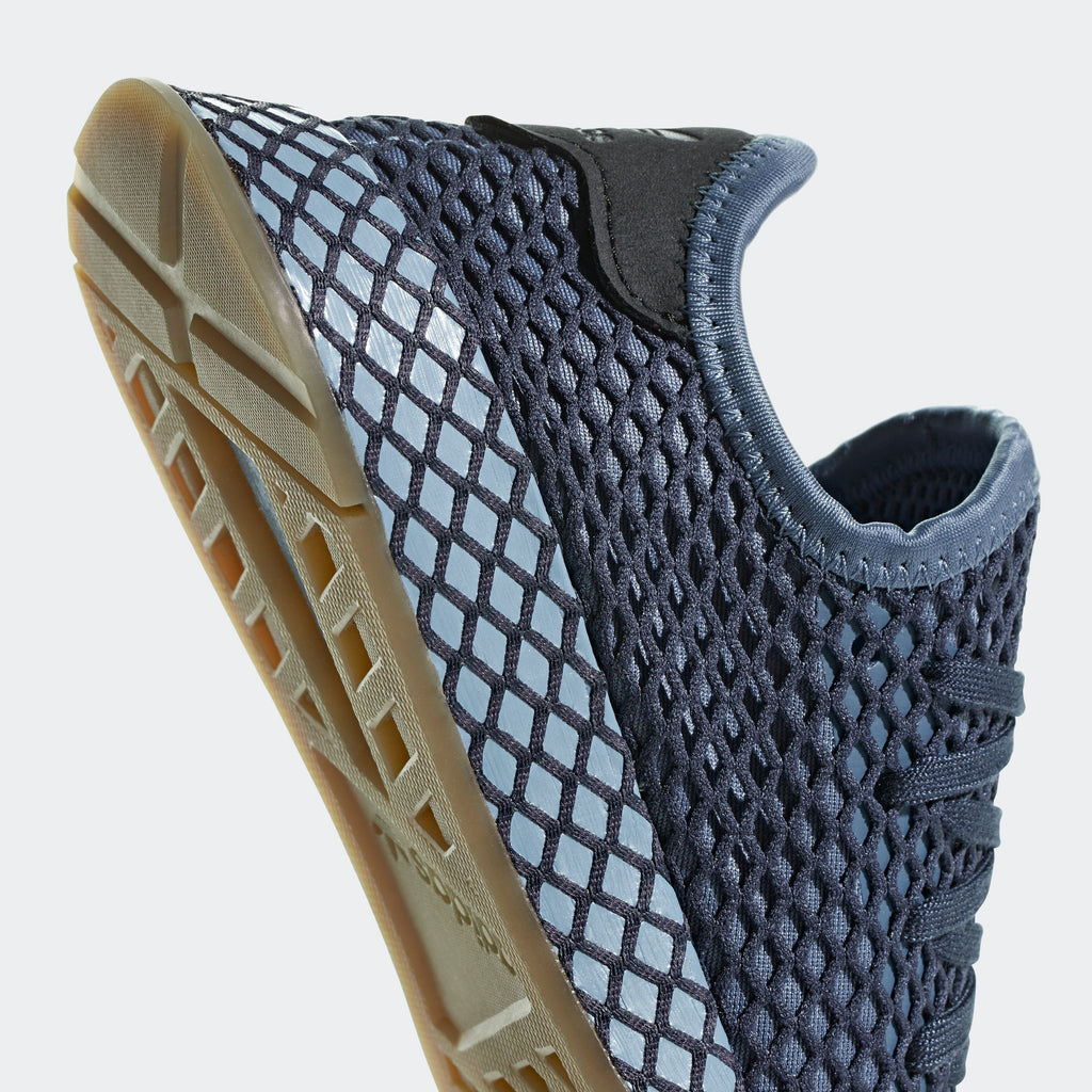Kid's adidas Originals Deerupt Runner Shoes Steel Blue