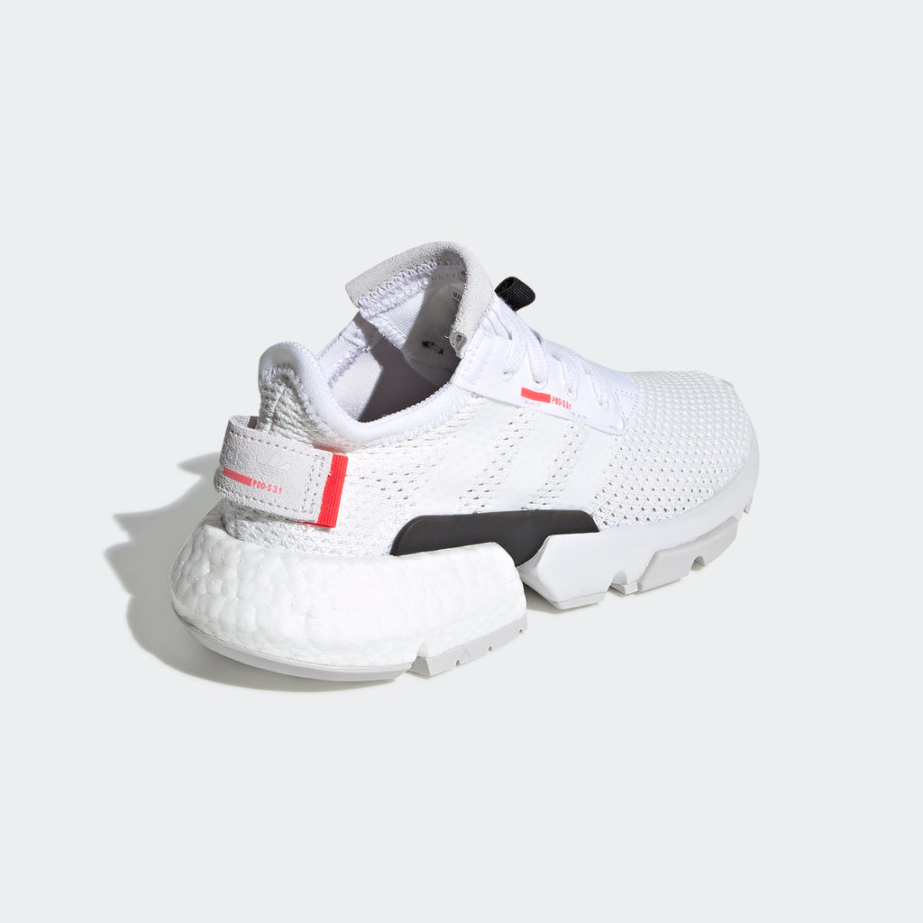 Kid's adidas Originals POD-S3.1 Shoes Cloud White Red