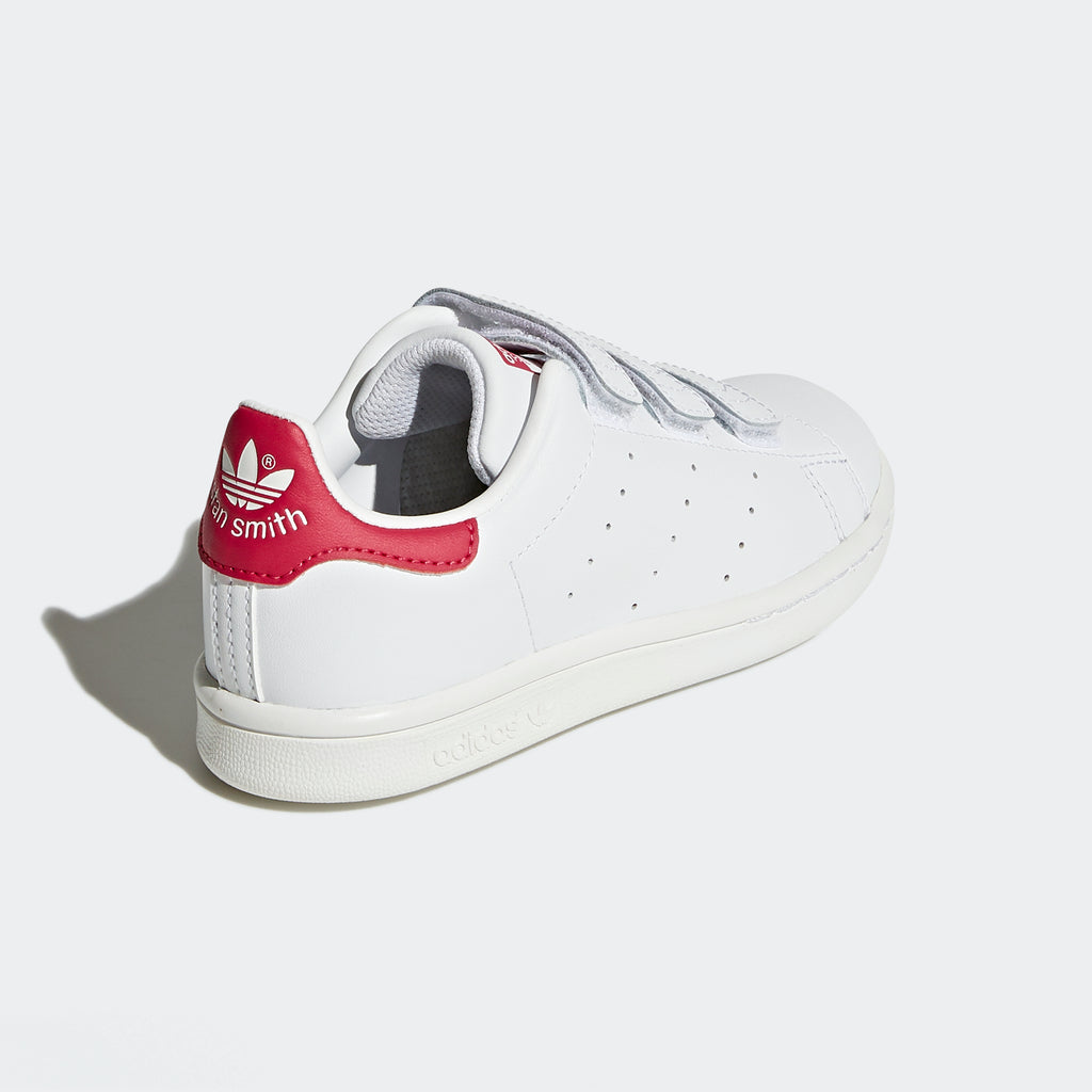 Kid's adidas Originals Stan Smith Shoes White Pink