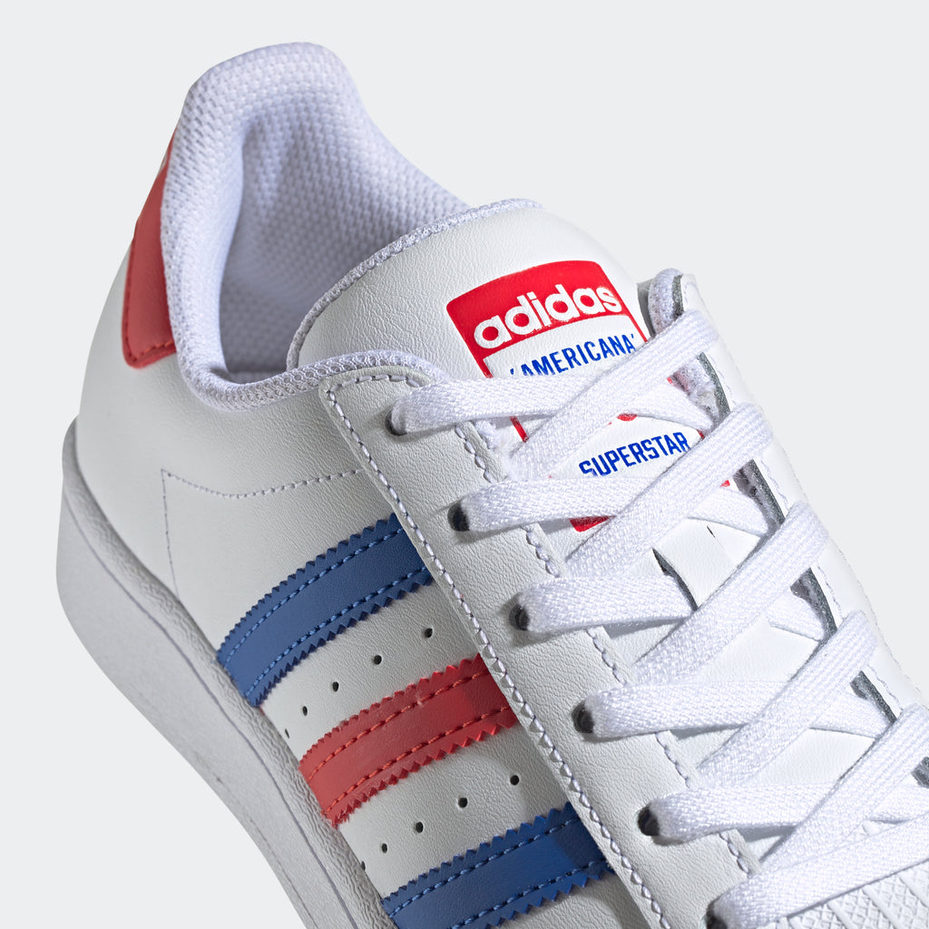 Kid's adidas Originals Superstar Shoes RWB