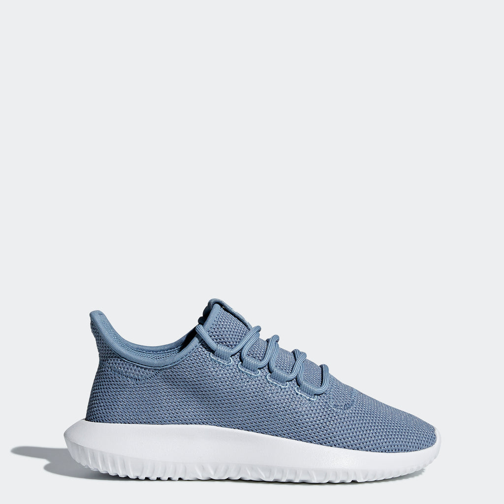 Kid's adidas Originals Tubular Shadow Shoes Raw Gray and Cloud White AC8434 | Chicago City Sports | side view