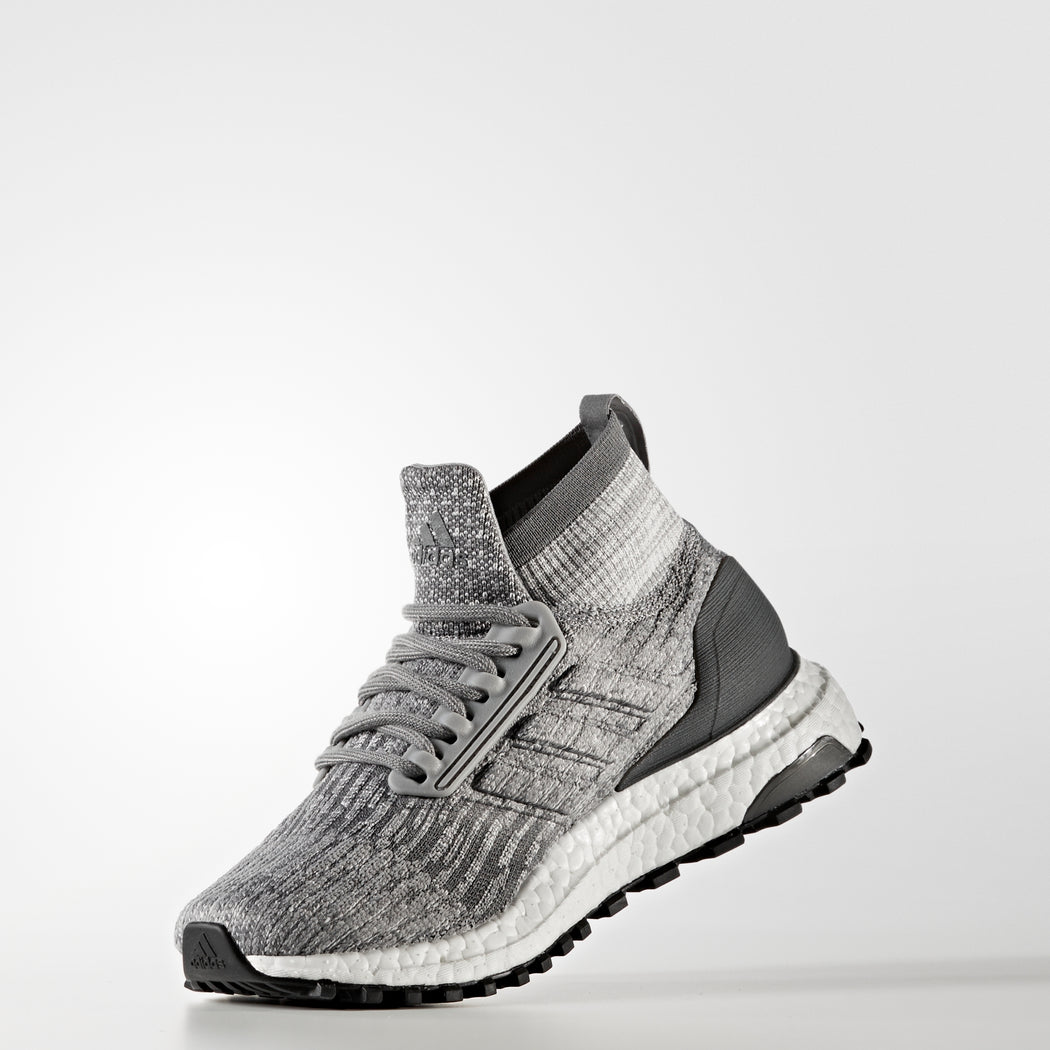 Kid's adidas Running Ultraboost Shoes Gray