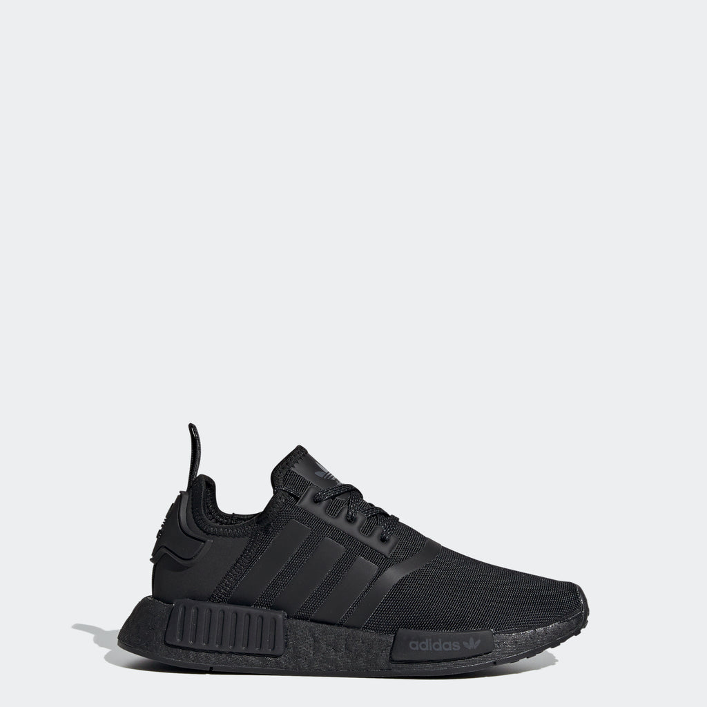 Kid's adidas Originals NMD_R1 Shoes Black SKU FX8777 | Chicago City Sports | side view