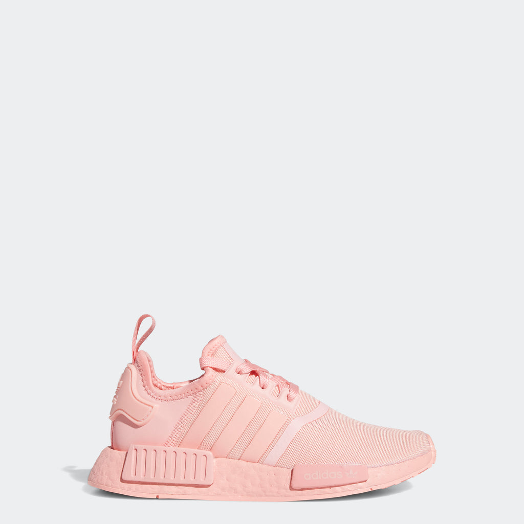 Kids' adidas NMD_R1 Shoes Glow Pink FW4708 | Chicago City Sports | side view