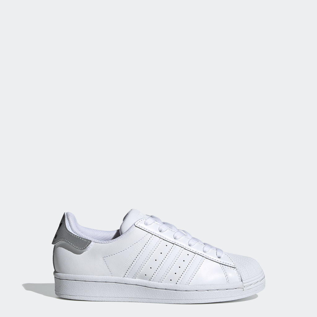 Kids' adidas Originals Superstar Shoes White