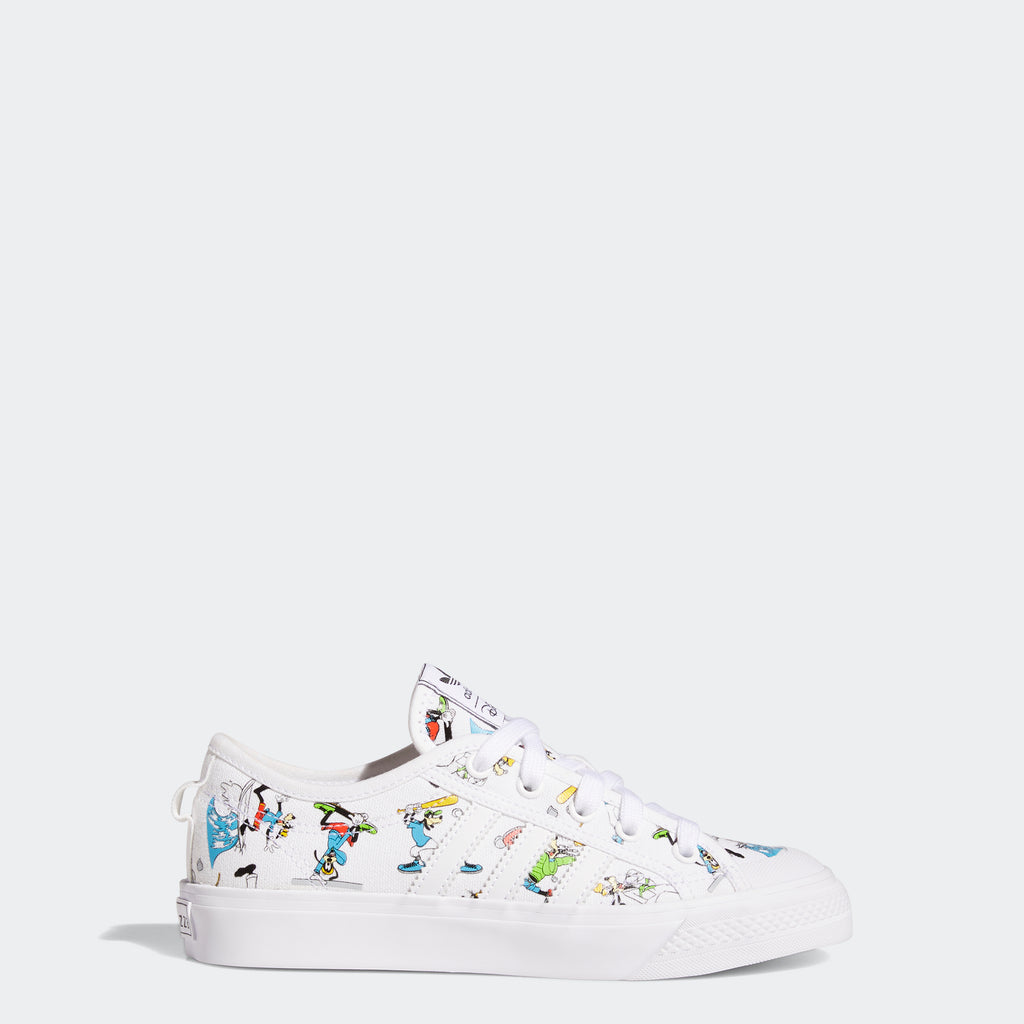 Kids' adidas Originals Nizza x Disney Sport Goofy Shoes
