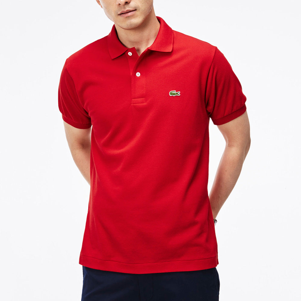 Mens Lacoste Classic Piqu Polo Red Chicago City Sports