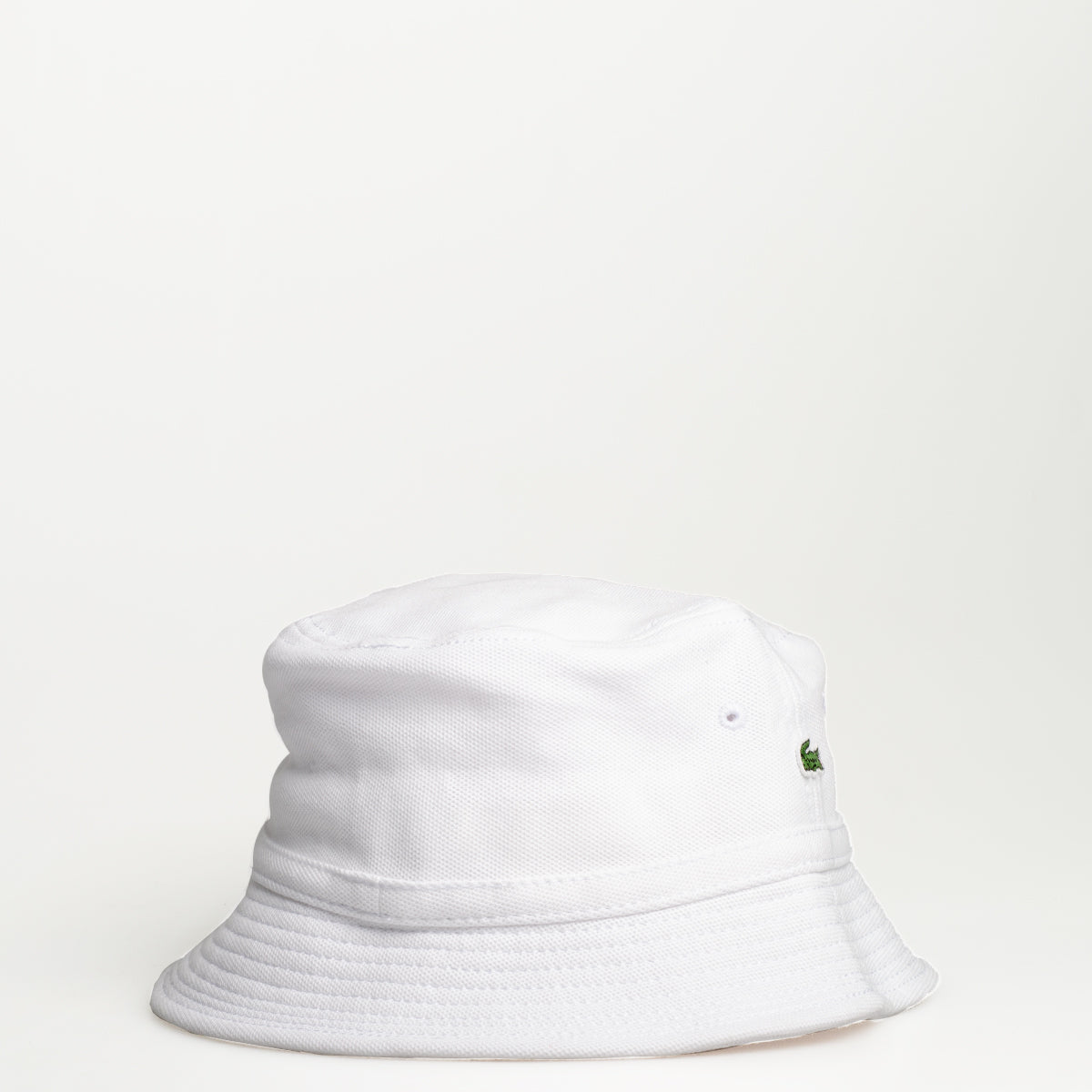 31f15ee267774 Men s Lacoste Cotton Piqué Bucket Hat White – Chicago City Sports