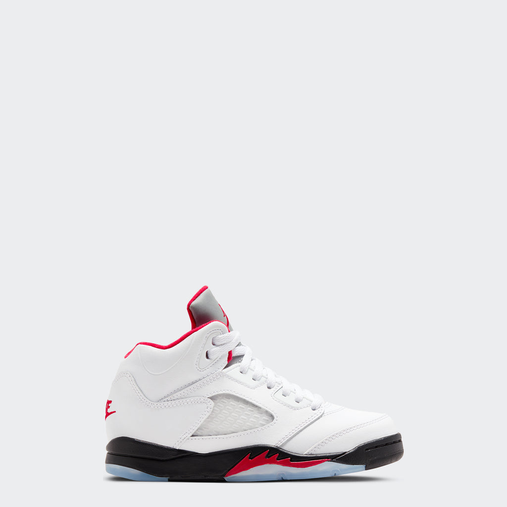 "Little Kids' Jordan 5 Retro ""Fire Red"" (Sizes 10.5C-3Y)"