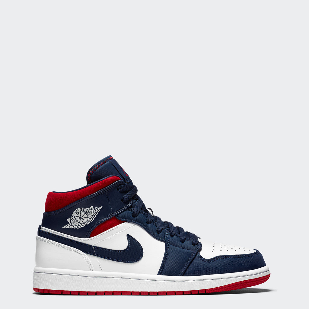 "Men's Air Jordan 1 Mid Shoes SE ""Olympic"""