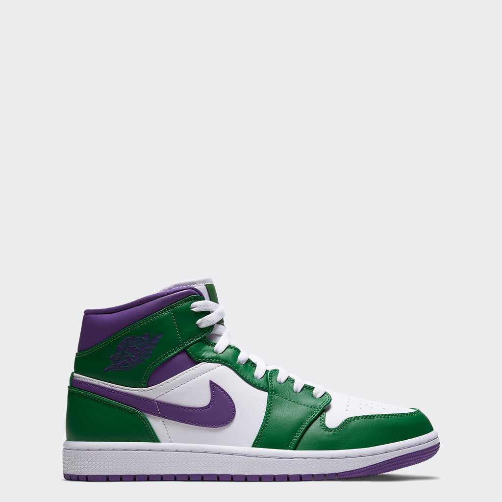 "Men's Air Jordan 1 Mid Shoes ""Hulk"" 554724-300 