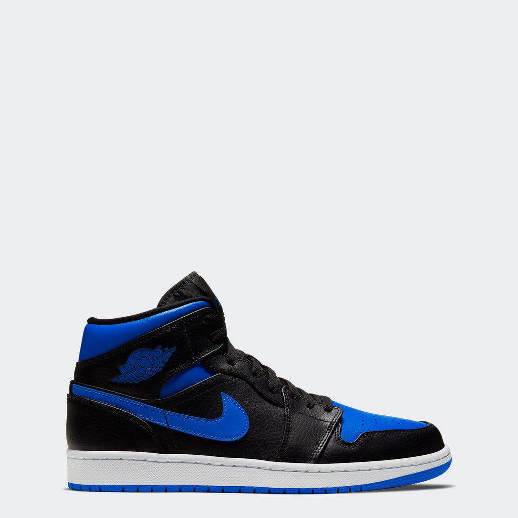 "Men's Air Jordan 1 Mid Shoes ""Royal Blue"""