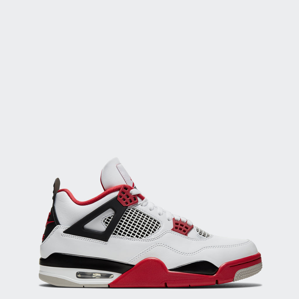 "Men's Air Jordan 4 Retro ""Fire Red"" DC7770-160 