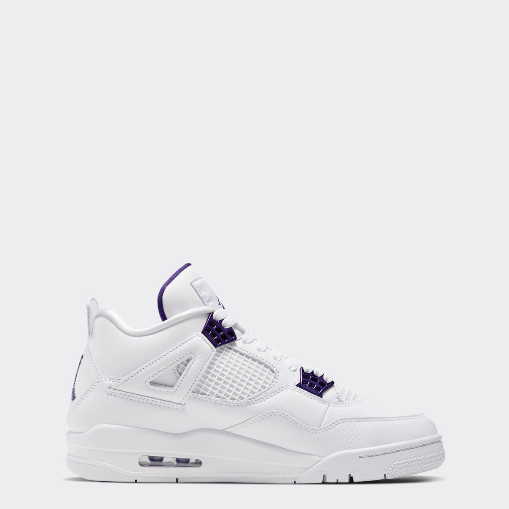 "Men's Air Jordan 4 Retro ""Metallic Purple"""