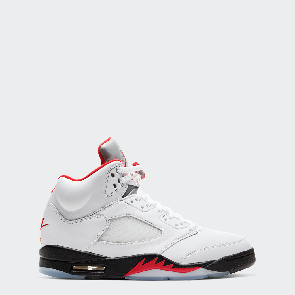 "Men's Air Jordan 5 Retro ""Fire Red"""