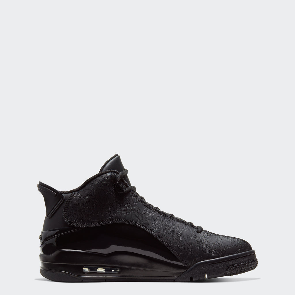 "Men's Air Jordan Dub Zero Shoes ""Triple Black"""