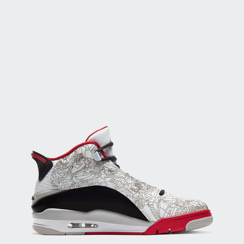 "Men's Air Jordan Dub Zero Shoes ""Varsity Red"" (SKU 311046-116) 