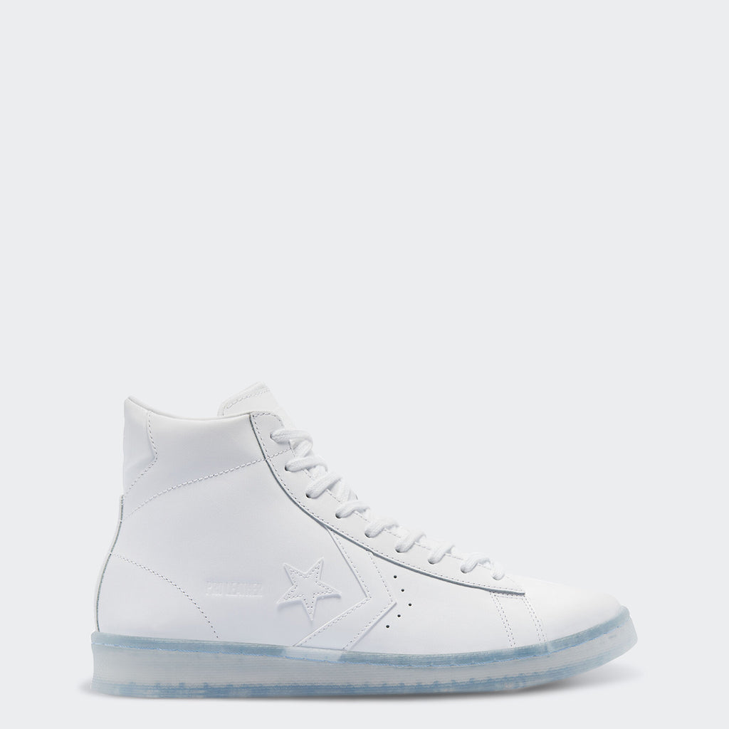 "Men's Converse Pro Leather Sneakers ""White Ice"""