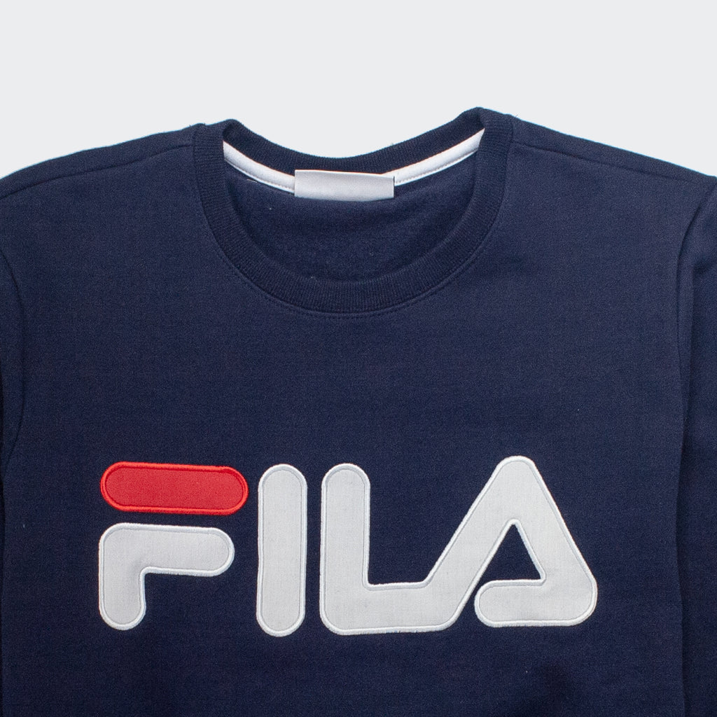 Men's FILA Regola Sweatshirt Navy