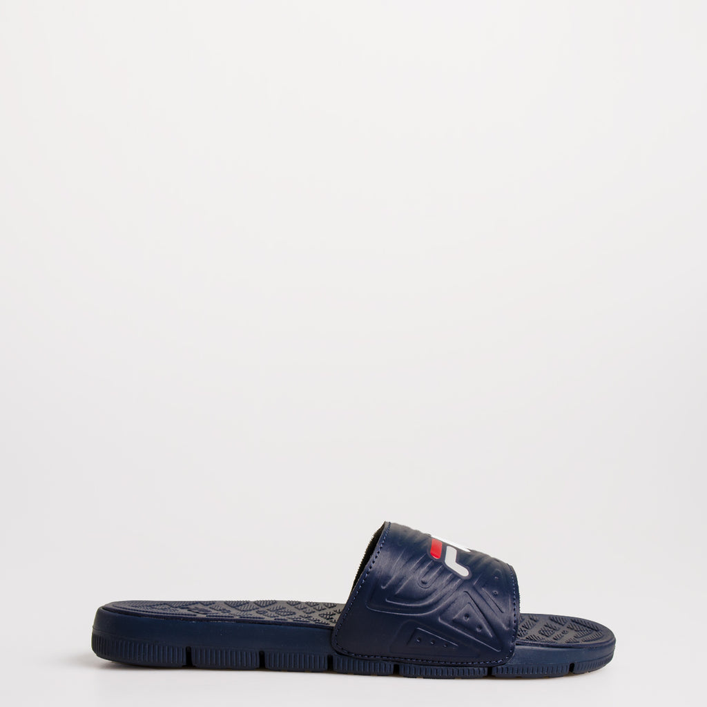 Men's FILA Coolwind 7 Slides Navy