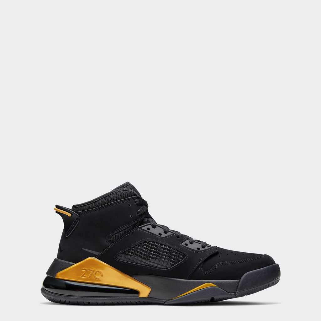 "Men's Jordan Mars 270 Shoes ""Black Metallic Gold"""