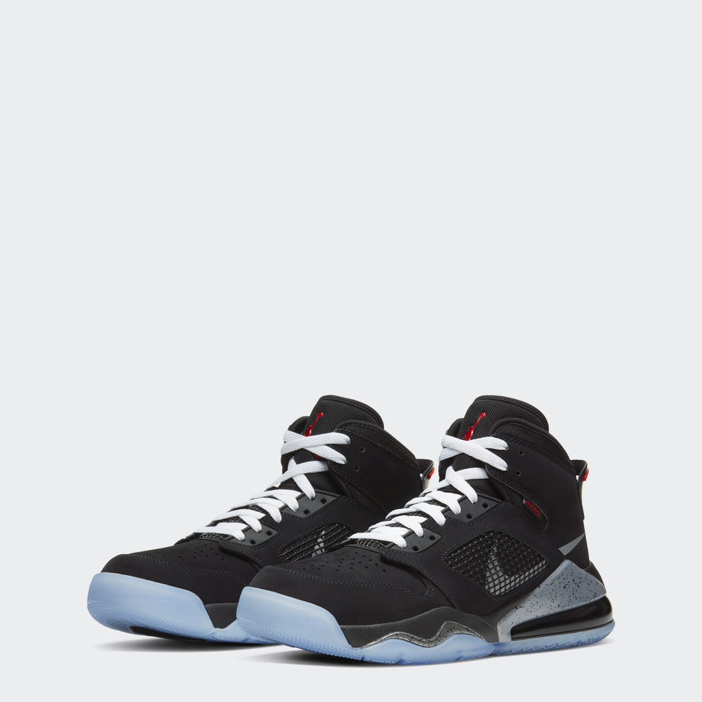 "Men's Jordan Mars 270 Shoes ""Black Metallic Silver"""