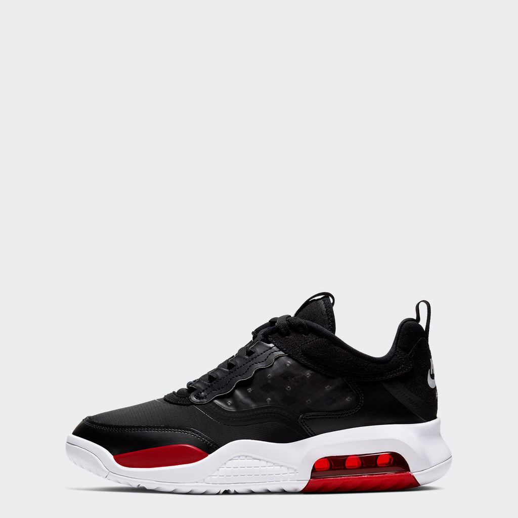 "Men's Jordan Max 200 Shoes ""Black Gym Red"" (SKU CD6105-006) 