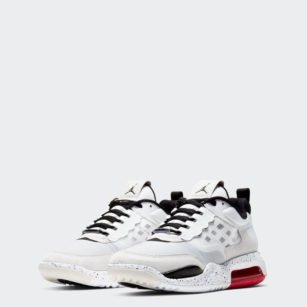 Men's Jordan Max 200 Shoes White (SKU CD6105-100) | Chicago City Sports | front view