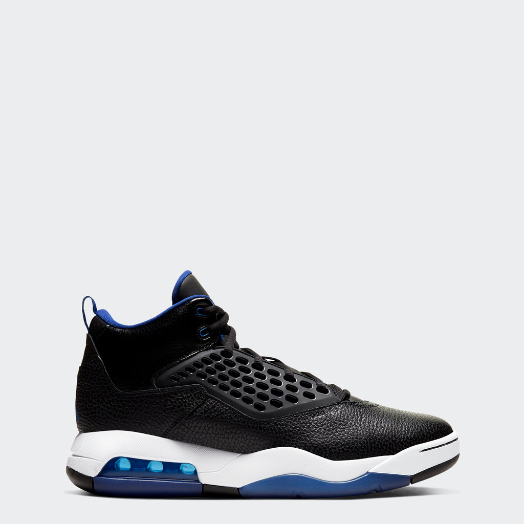 "Men's Jordan Maxin 200 Shoes ""Black Rush Blue"""