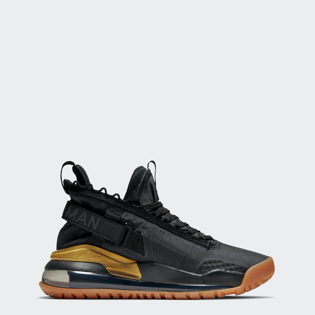 "Men's Jordan Proto-Max 720 Shoes ""Black Gold Gum"""
