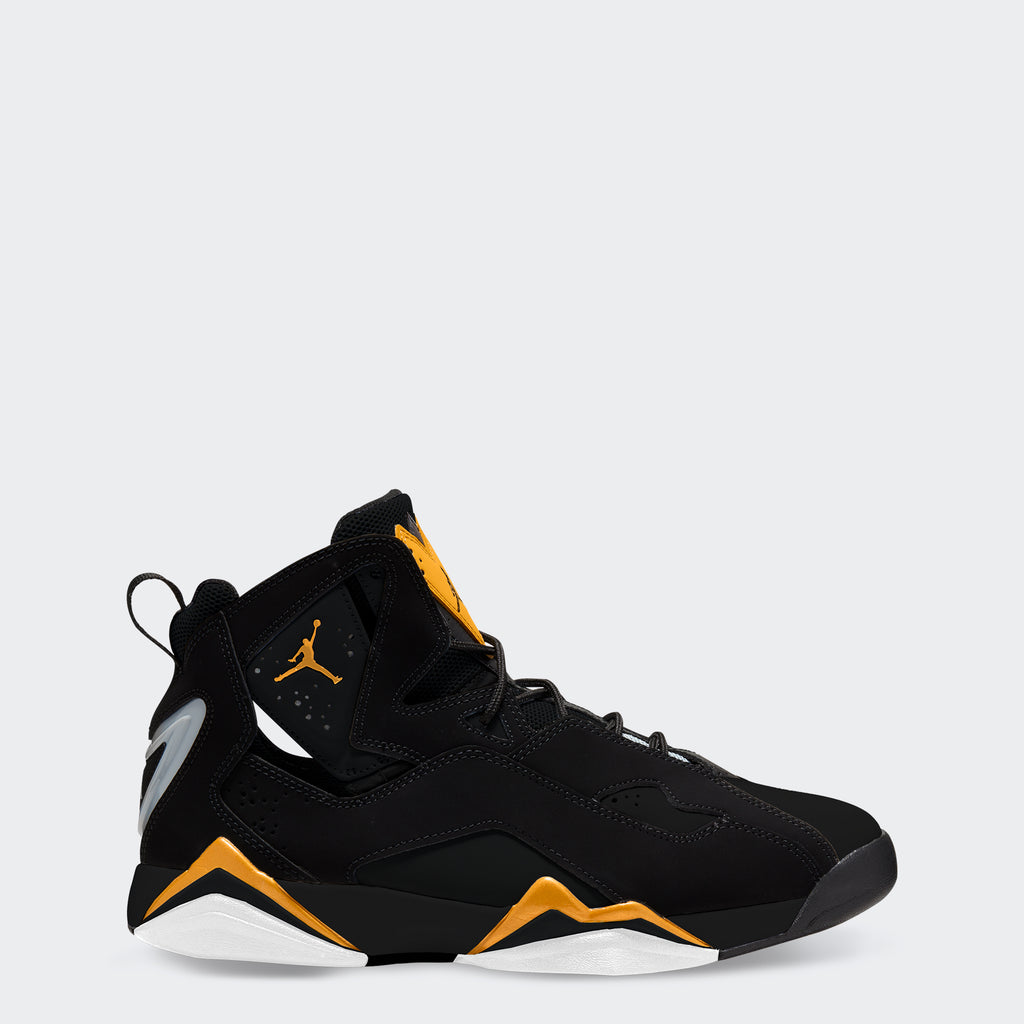 "Men's Jordan True Flight Shoes ""Black Metallic Gold"""