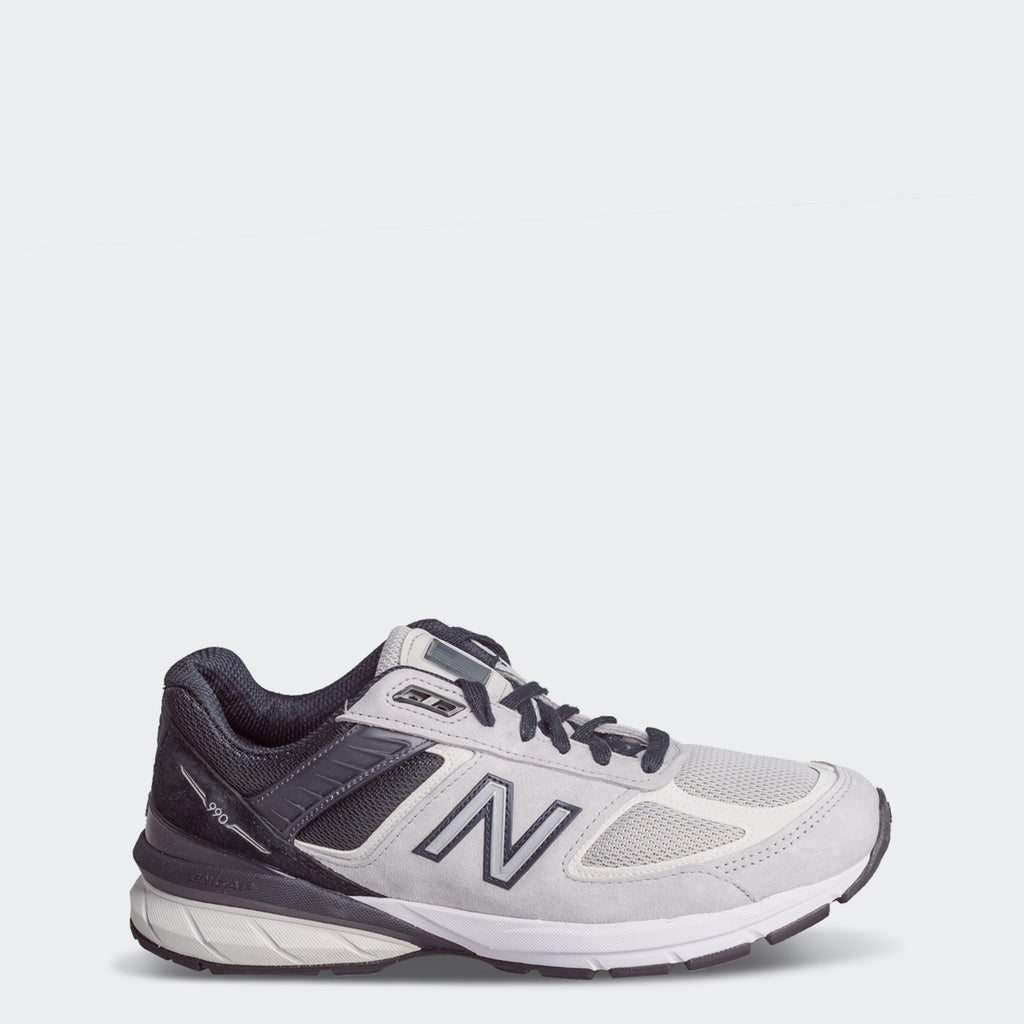 Men's New Balance 990v5 Made in US Grey Black M990GT5 | Chicago City Sports | side view