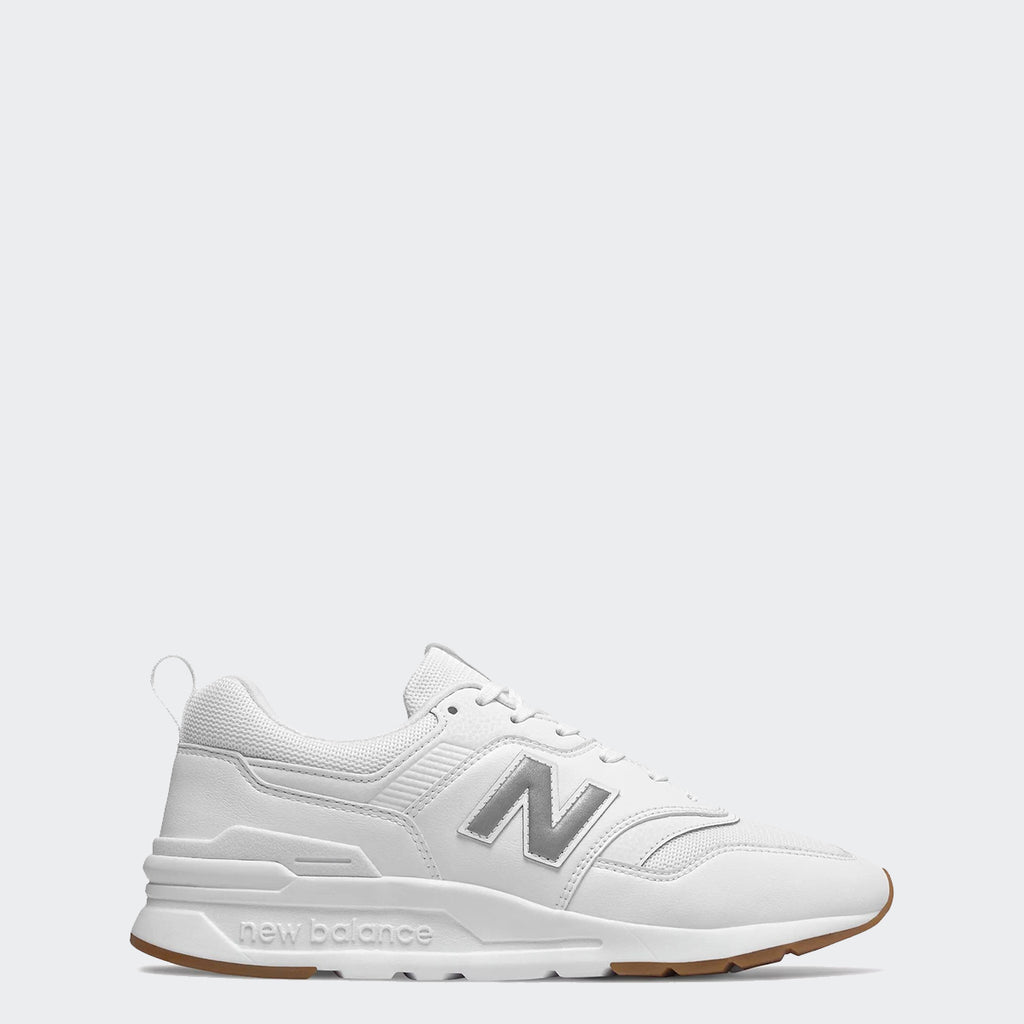 Men's New Balance 997H Shoes White Silver