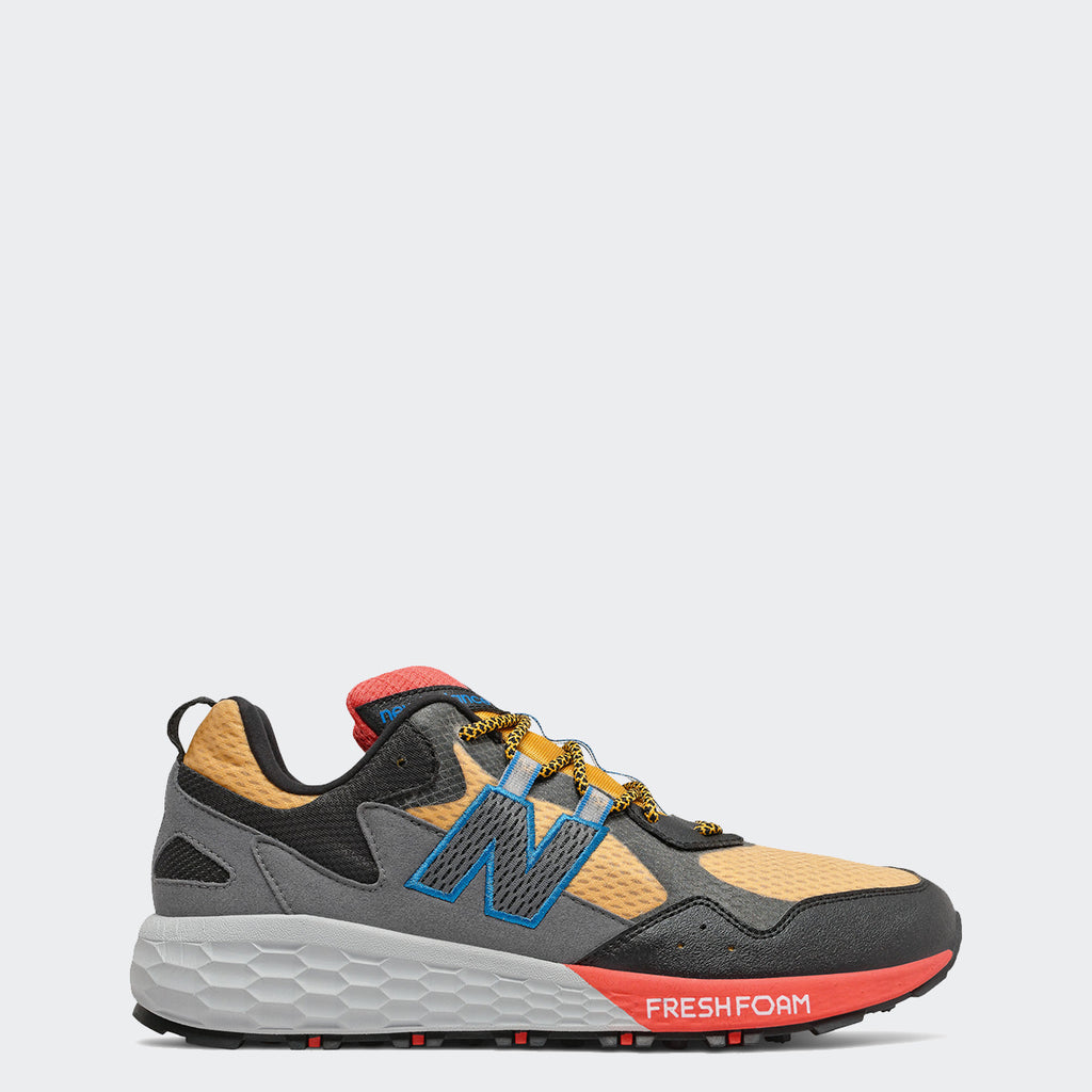 Men's New Balance Fresh Foam Crag v2 Shoes Gold