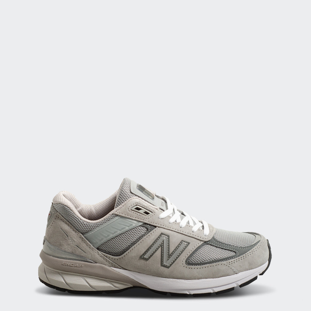 Men's New Balance 990v5 Made in US Grey with Castlerock