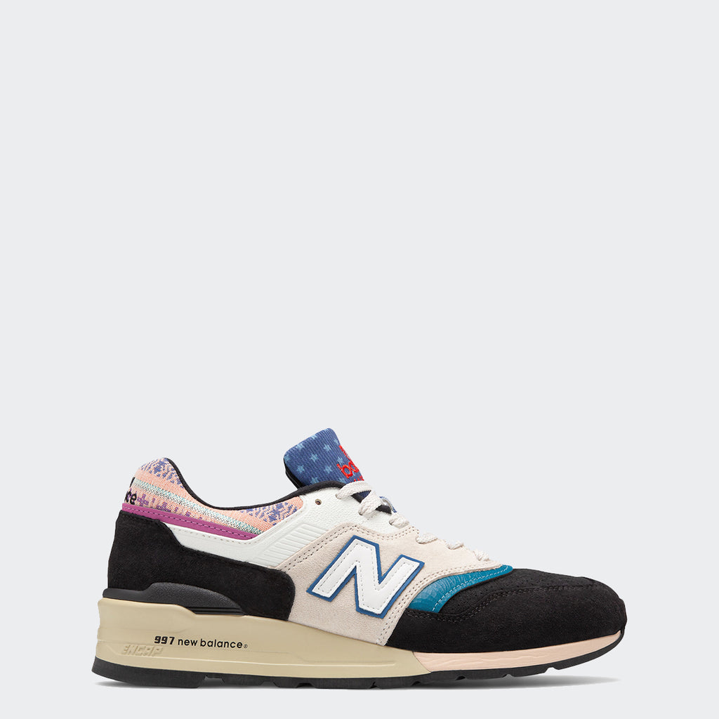 Men's New Balance Made in US 997 Multicolor M997PAL | Chicago City Sports | side view