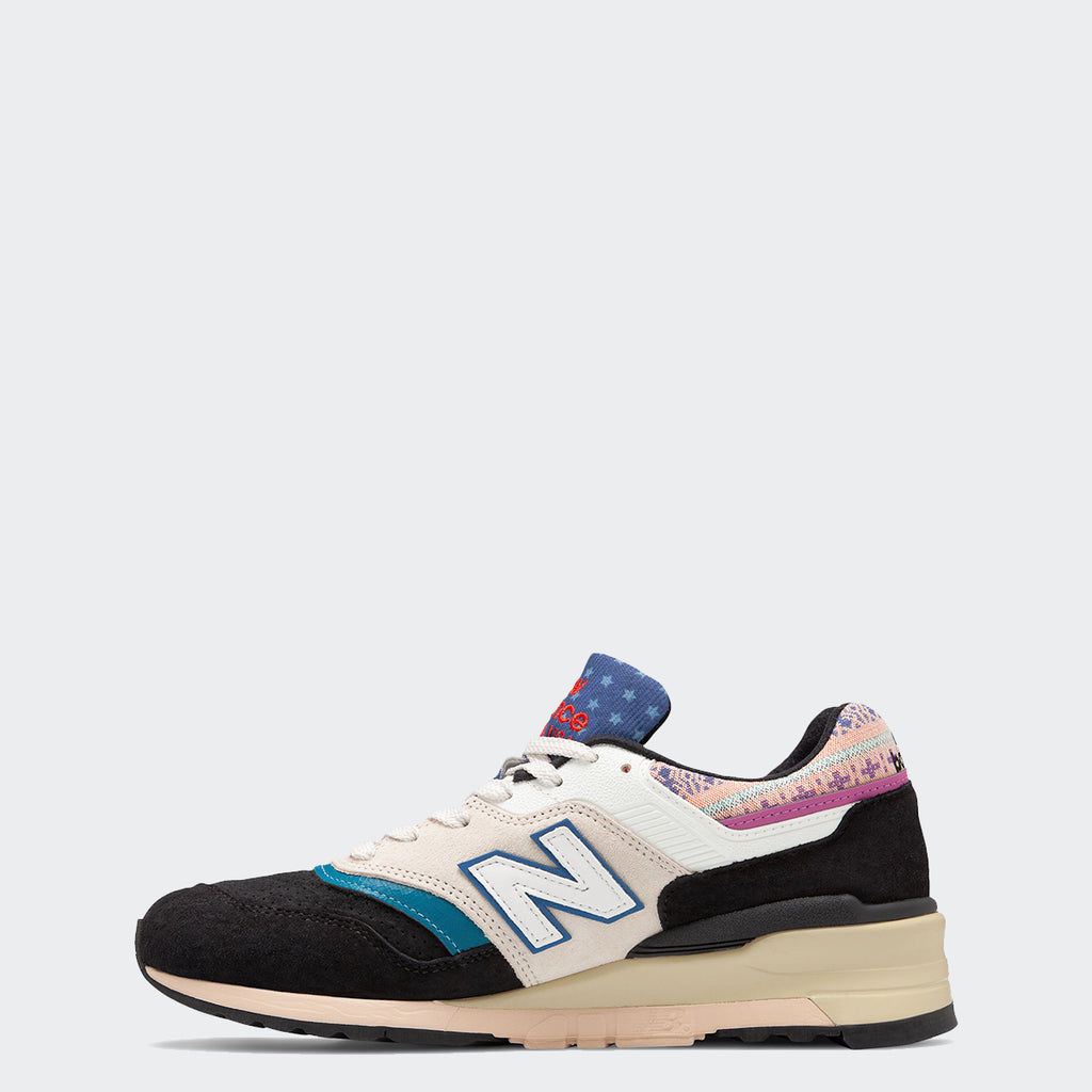 Men's New Balance Made in US 997 Multicolor M997PAL | Chicago City Sports | interior side view