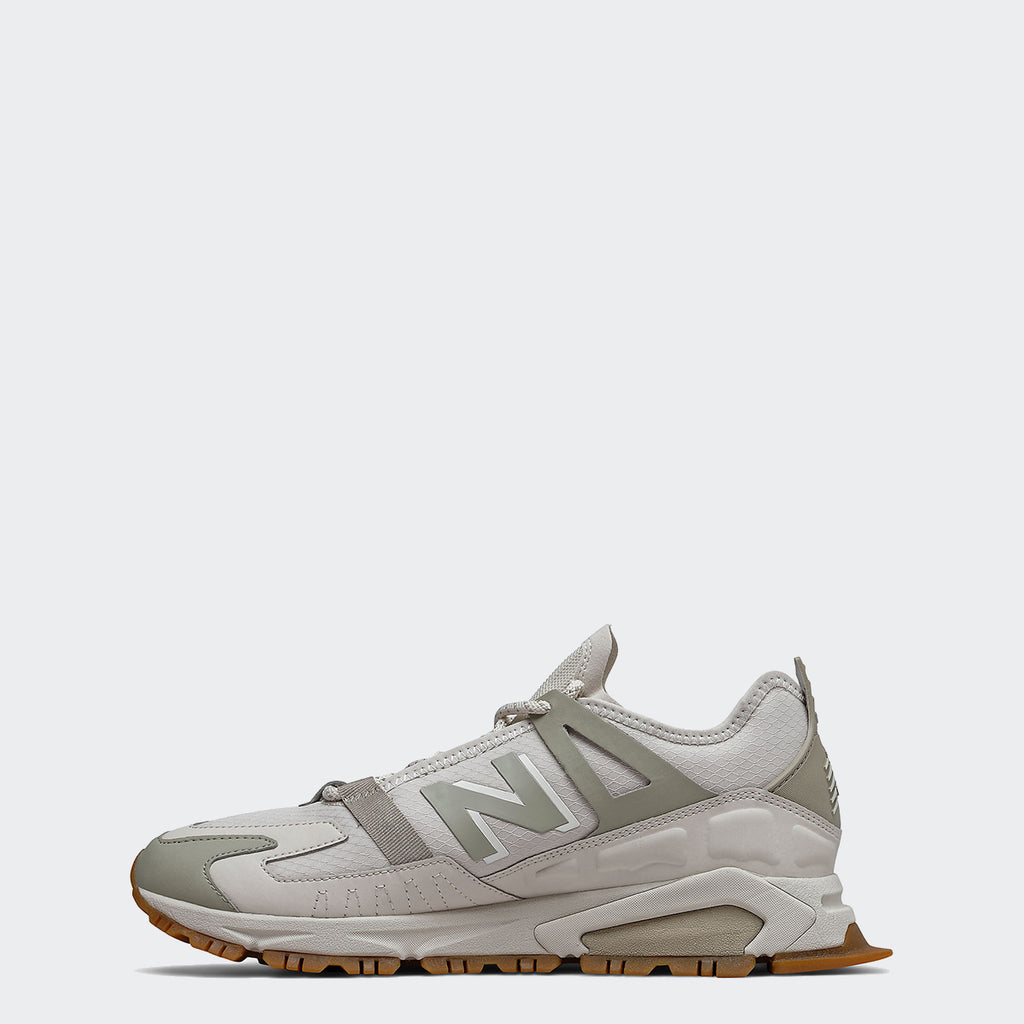 Men's New Balance XRCT Shoes Aluminum with Team Cream