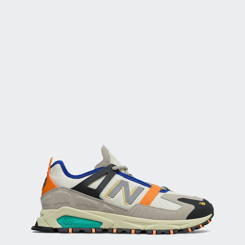 Men's New Balance XRCT Shoes Outerspace Grey Multicolor MSXRCTCE | Chicago City Sports | side view