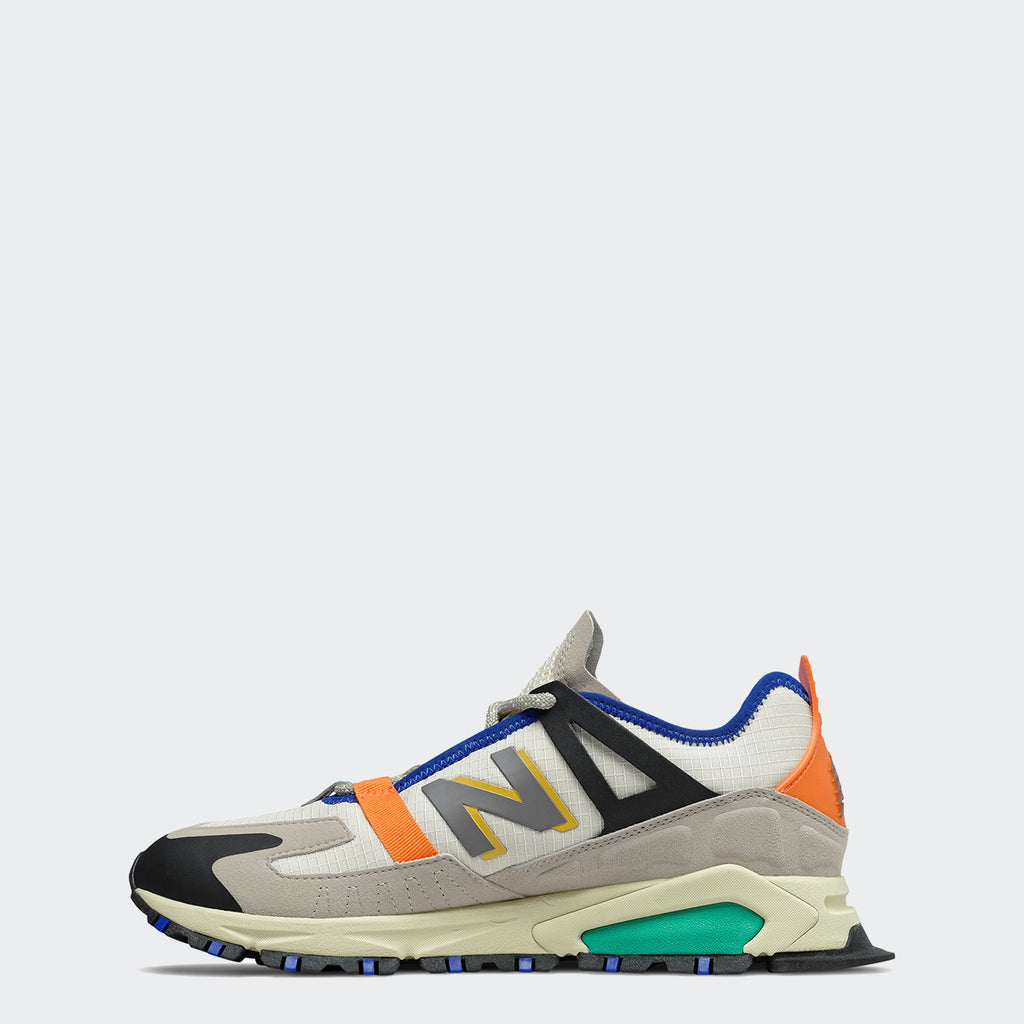 Men's New Balance XRCT Shoes Outerspace Grey Multicolor MSXRCTCE | Chicago City Sports | interior side view