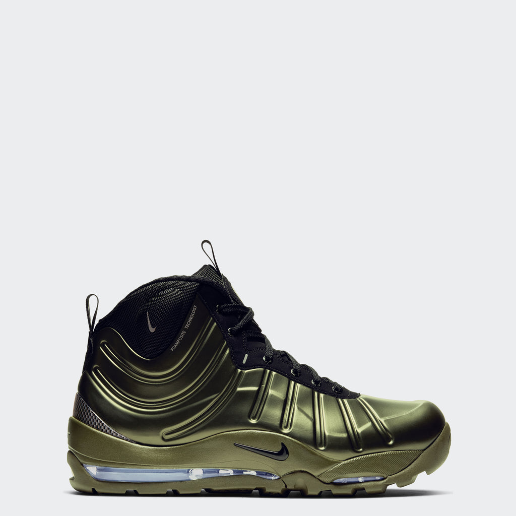 Men's Nike Air Bakin Posite Shoes Olive
